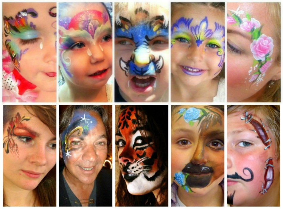 JuliaArts Face Painting Rotherham, Barnsley, Sheffield