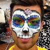 Sugar skull JuliaArts Face Painting Brighton and Hove